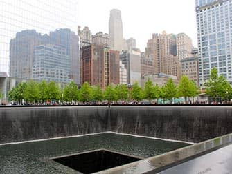 Financial District Tour in NYC - 9/11 Memorial