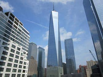 Lower Manhattan in NYC-One World Trade Center