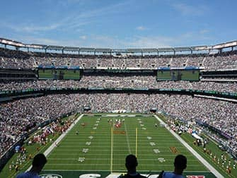 New York Jets - Partita di football americano