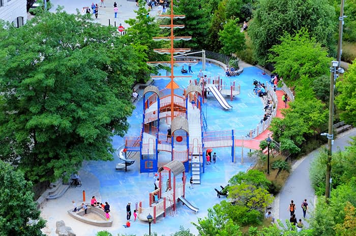 Parchi giochi a New York - Main Street Playground