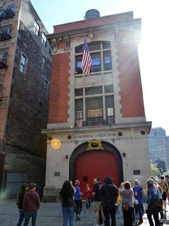 Tour dei luoghi dei film e delle serie televisive a New York- Ghostbusters