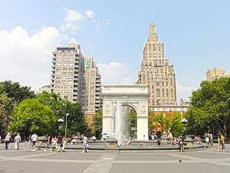 Tour dei luoghi dei film e delle serie televisive a New York- Washington Square Park