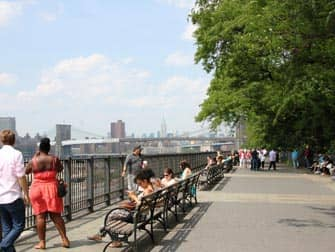 Tour di Brooklyn - Brooklyn Heights Promenade