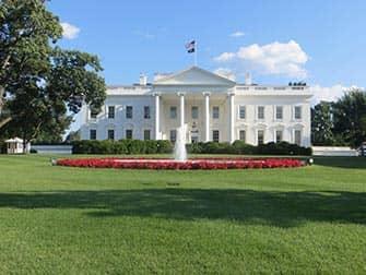 Washington DC in bus da New York - Casa Bianca