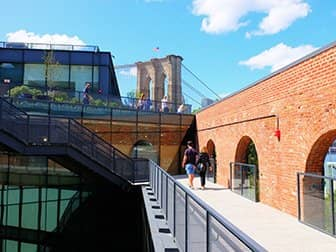 Brooklyn Bridge Park a New York - Tetto Empire Stores