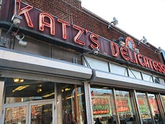 Lower East Side in NYC - Katz's Deli