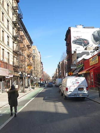Lower East Side in NYC - Strada