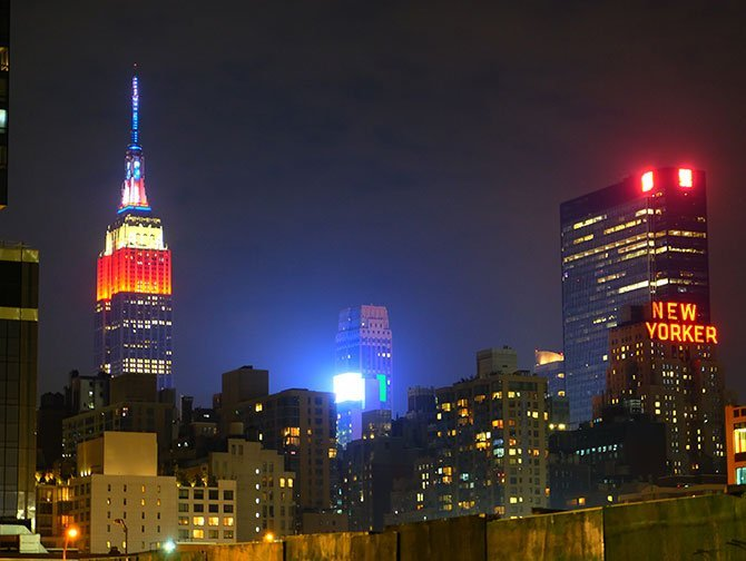 4 luglio a New York - Empire State Building