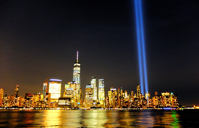 9/11 a New York - Tribute in Light