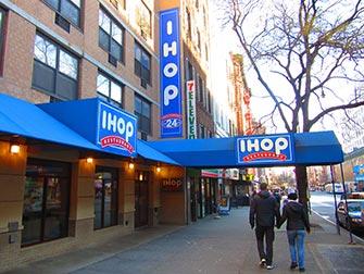 Cibo tipico americano in NYC - IHOP