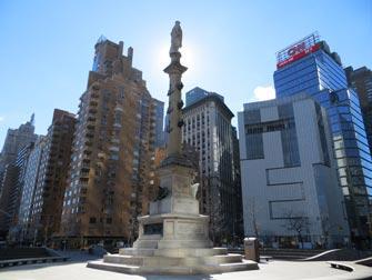 Columbus Day a New York- Columbus Circle