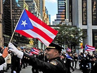Columbus Day a New York- bandiera portoricana
