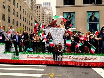 Columbus Day a New York- studenti italiani