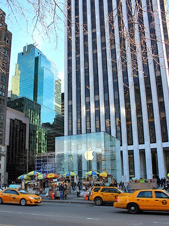 Electronica e gadgets in NYC - Apple Store