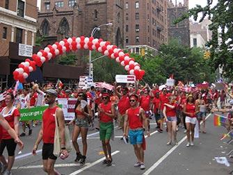 Gay Pride a New York - Parata