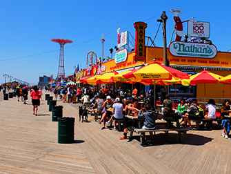 Memorial Day a New York - Lungomare di Coney Island