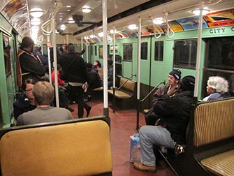 Nostalgia Train a New York - All'interno del treno