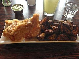 Fermata in Islanda- Icelandic Fish and Chips