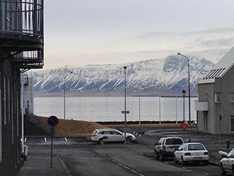 Fermata in Islanda - Reykjavik vista di un lago