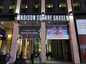 Madison Square Garden a New York