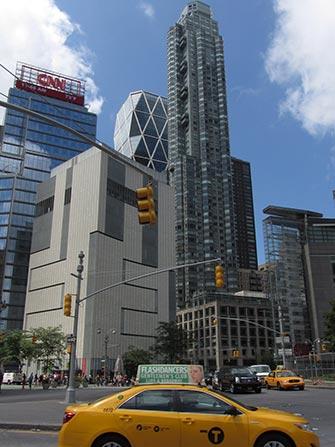 Show televisivo a New York- CNN e Hearst Tower