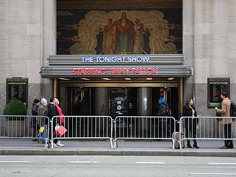 Show televisivo a New York - Tonight Show