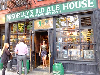 Tour dei bar segreti (speakeasy) di New York - McSorleys