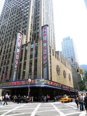 Tour di New York in bus con guida in italiano - Radio City