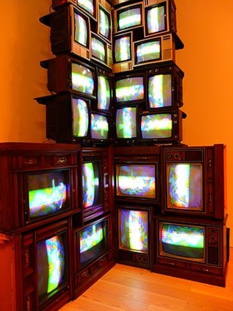 Whitney Museum a New York - Nam June Paik