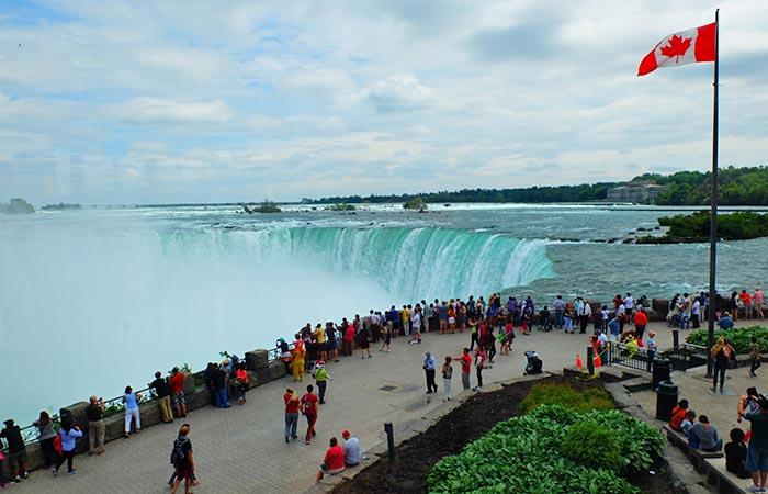 New York alle Cascate del Niagara in aereo privato per un giorno- Canada