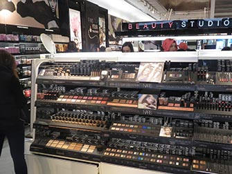 Make up a New York- Sephora interni