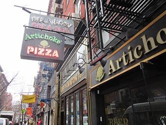West Village Food Tour a New York - Artichoke Pizza