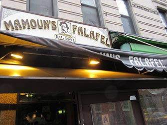 West Village Food Tour a New York - Mamoun's Falafel