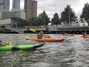 Fare kayak a New York