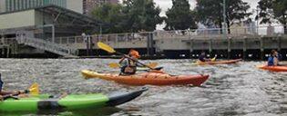 Fare kayak a New York