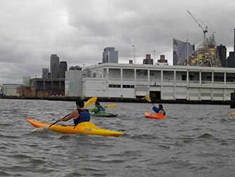 Fare kayak a New York - Il fiume Hudson