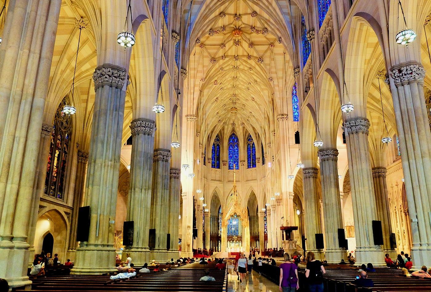 La cattedrale di San Patrizio a New York - Architettura