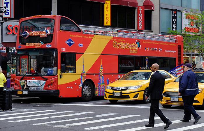 Autobus turistico CitySightseeing a New York - Autobus