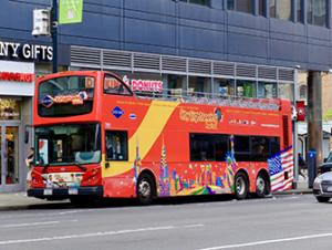 Autobus turistico Gray Line a New York