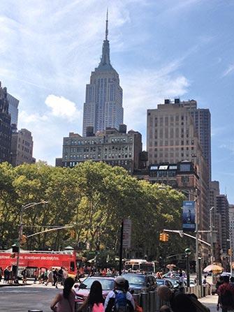 Autobus turistico Gray Line a New York - Empire State