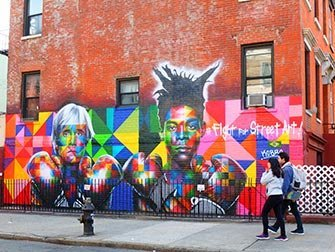 Tour di Brooklyn, Queens e The Bronx - Graffiti in Williamsburg