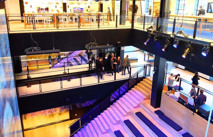 Samsung Store a New York - Allestimento