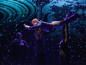 The Curious Incident of the Dog in the Night-Time a Broadway - Cast