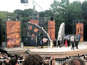 Shakespeare in the Park a New York