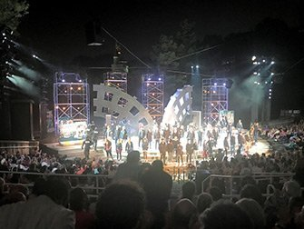 Shakespeare in the Park a New York - Fine dello show