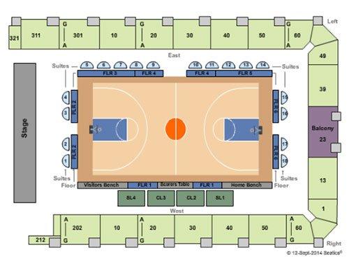 Biglietti per New York Liberty basket - Mappa dei posti