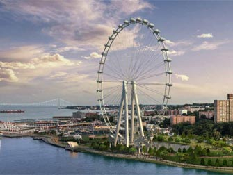The New York Wheel - Rappresentazione