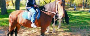 Andare a cavallo in Central Park