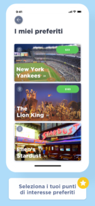 Erics New York App   Schermata 3