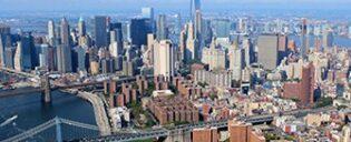 Giro in elicottero senza porte a New York
